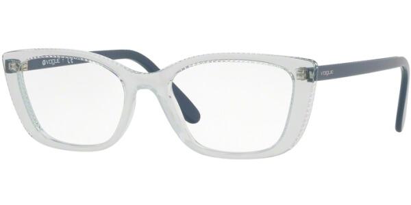 Dioptrické brýle Vogue model 5217, barva obruby čirá modrá lesk, stranice modrá šedá lesk, kód barevné varianty 2616.