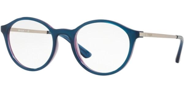 Dioptrické brýle Vogue model 5223, barva obruby modrá fialová lesk, stranice stříbrná lesk, kód barevné varianty 2633.