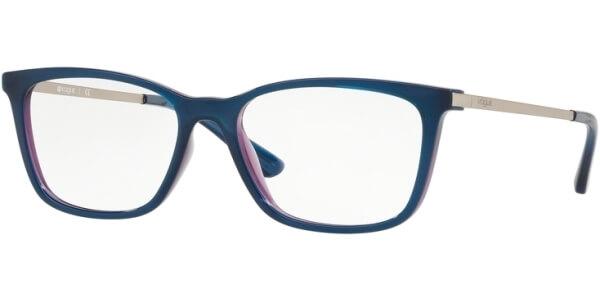 Dioptrické brýle Vogue model 5224, barva obruby modrá fialová lesk, stranice stříbrná lesk, kód barevné varianty 2633.