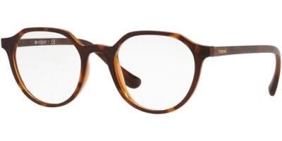 Dioptrické brýle Vogue model 5226, barva obruby hnědá mat, stranice hnědá mat, kód barevné varianty 2386.