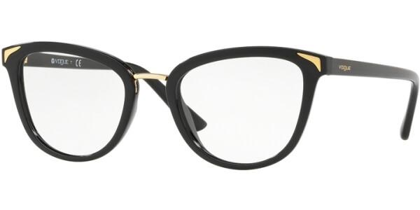 Dioptrické brýle Vogue model 5231, barva obruby černá lesk, stranice černá lesk, kód barevné varianty W44.