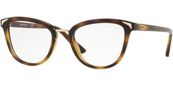 Dioptrické brýle Vogue model 5231, barva obruby hnědá lesk, stranice hnědá lesk, kód barevné varianty W656.