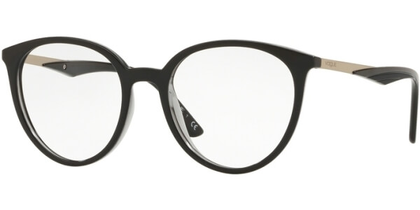 Dioptrické brýle Vogue model 5232, barva obruby černá lesk, stranice černá lesk, kód barevné varianty 2385.