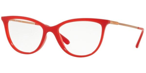 Dioptrické brýle Vogue model 5239, barva obruby červená lesk, stranice zlatá lesk, kód barevné varianty 2675.