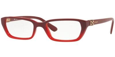 Dioptrické brýle Vogue model 5241B, barva obruby červená lesk, stranice červená lesk, kód barevné varianty 2669.