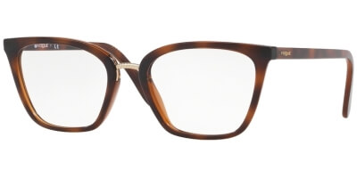 Dioptrické brýle Vogue model 5260, barva obruby hnědá lesk, stranice hnědá lesk, kód barevné varianty 2386.