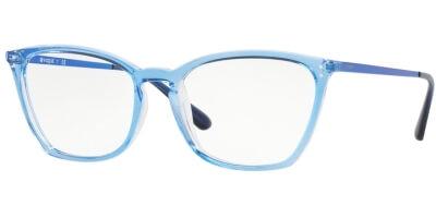 Dioptrické brýle Vogue model 5277, barva obruby modrá čirá lesk, stranice modrá lesk, kód barevné varianty 2734.