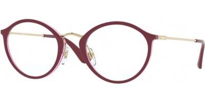Dioptrické brýle Vogue model 5286, barva obruby fialová zlatá lesk, stranice zlatá lesk, kód barevné varianty 2756.