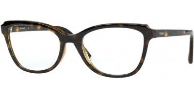 Dioptrické brýle Vogue model 5292, barva obruby hnědá lesk, stranice hnědá lesk, kód barevné varianty W656.