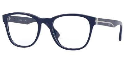 Dioptrické brýle Vogue model 5313, barva obruby modrá lesk, stranice modrá lesk, kód barevné varianty 2484.