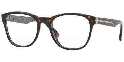 Dioptrické brýle Vogue model 5313, barva obruby hnědá lesk, stranice hnědá lesk, kód barevné varianty W656.