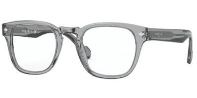 Dioptrické brýle Vogue model 5331, barva obruby šedá čirá lesk, stranice šedá čirá lesk, kód barevné varianty 2820.