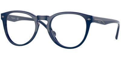 Dioptrické brýle Vogue model 5382, barva obruby modrá lesk, stranice modrá lesk, kód barevné varianty 2484.