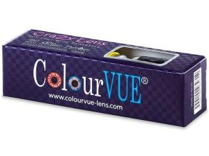 Crazy čočky ColourVue roční 17 mm (2 čočky) - nedioptrické