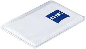 ZEISS Mikroutěrka 15x18 cm, barva: bílá