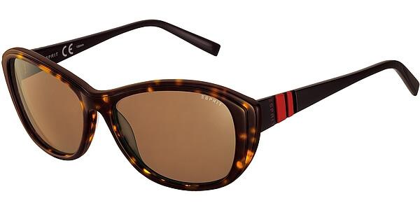 Sluneční brýle Esprit model 17834, barva obruby hnědá lesk černá, čočka hnědá, kód barevné varianty 545.