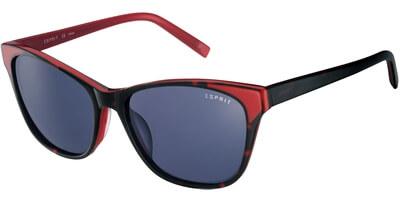 Sluneční brýle Esprit model 17846, barva obruby černá lesk červená, čočka šedá, kód barevné varianty 531.