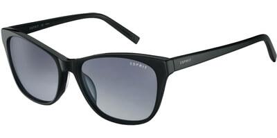 Sluneční brýle Esprit model 17846, barva obruby černá lesk, čočka šedá gradál, kód barevné varianty 538.