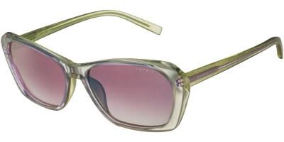 Sluneční brýle Esprit model 17854, barva obruby žlutá fialová, čočka hnědá, kód barevné varianty 547.