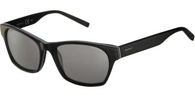 Sluneční brýle Esprit model 17858, barva obruby černá lesk bílá, čočka šedá, kód barevné varianty 538.