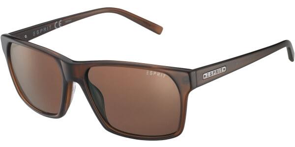 Sluneční brýle Esprit model 17865, barva obruby hnědá lesk, čočka hnědá, kód barevné varianty 535.