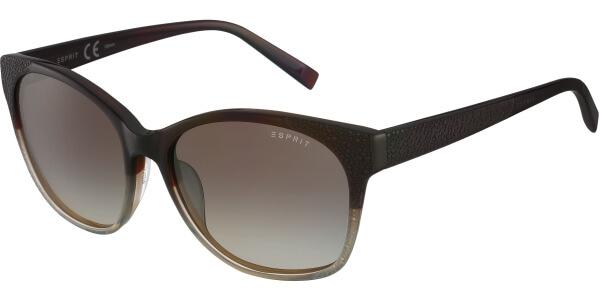 Sluneční brýle Esprit model 17872, barva obruby hnědá lesk, čočka hnědá gradál, kód barevné varianty 535.