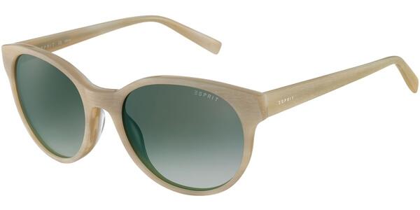 Sluneční brýle Esprit model 17877, barva obruby béžová mat, čočka šedá gradál, kód barevné varianty 565.