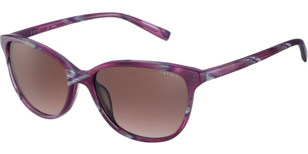 Sluneční brýle Esprit model 17878, barva obruby růžová lesk žíhaná, čočka hnědá gradál, kód barevné varianty 577.