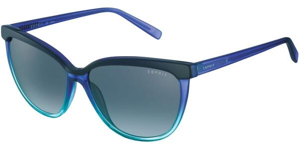 Sluneční brýle Esprit model 17881, barva obruby modrá lesk tyrkysová, čočka šedá gradál, kód barevné varianty 543.
