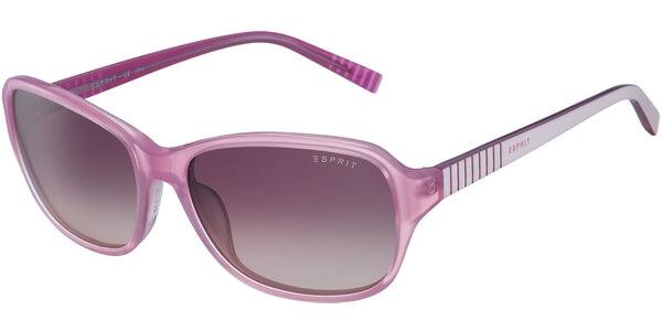 Sluneční brýle Esprit model 17885, barva obruby růžová lesk bílá, čočka růžová gradál, kód barevné varianty 515.