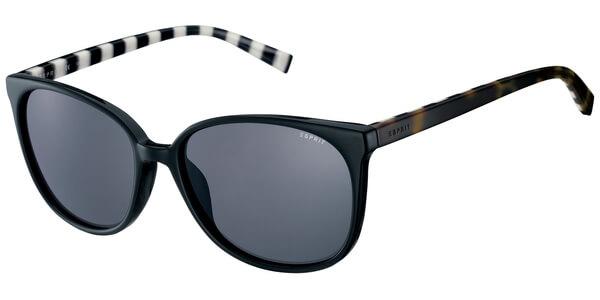 Sluneční brýle Esprit model 17897, barva obruby černá lesk hnědá, čočka šedá gradál, kód barevné varianty 538.