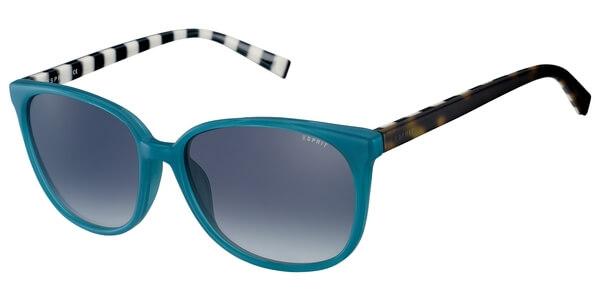 Sluneční brýle Esprit model 17897, barva obruby modrá lesk hnědá, čočka modrá gradál, kód barevné varianty 543.