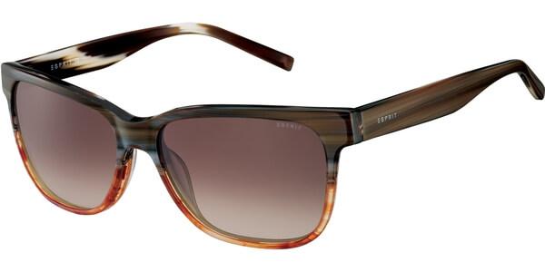 Sluneční brýle Esprit model 17899, barva obruby béžová lesk hnědá, čočka hnědá gradál, kód barevné varianty 535.
