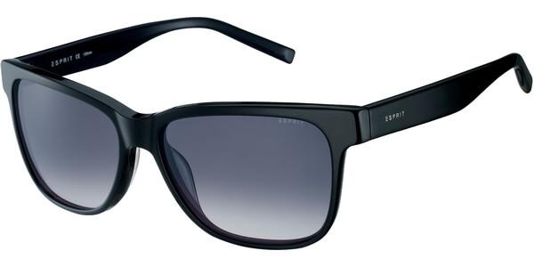 Sluneční brýle Esprit model 17899, barva obruby černá lesk, čočka šedá gradál, kód barevné varianty 538.