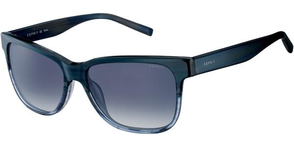 Sluneční brýle Esprit model 17899, barva obruby modrá lesk čirá, čočka šedá gradál, kód barevné varianty 543.