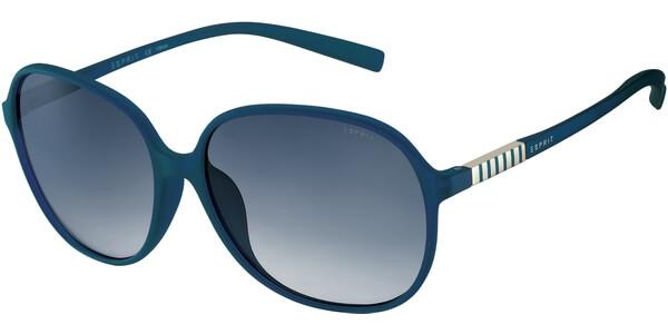 Sluneční brýle Esprit model 17901, barva obruby modrá mat, čočka modrá gradál, kód barevné varianty 543.