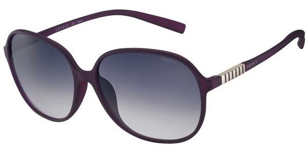Sluneční brýle Esprit model 17901, barva obruby fialová mat, čočka fialová gradál, kód barevné varianty 577.