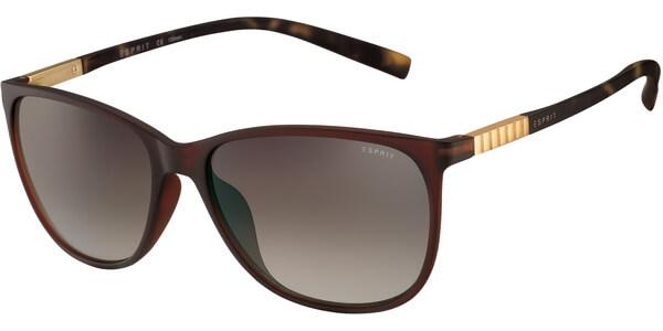 Sluneční brýle Esprit model 17902, barva obruby hnědá mat, čočka hnědá gradál, kód barevné varianty 535.