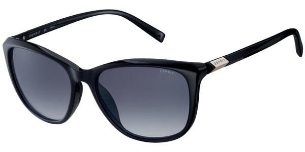 Sluneční brýle Esprit model 17906, barva obruby černá lesk, čočka šedá gradál, kód barevné varianty 538.