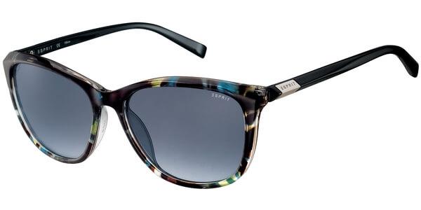 Sluneční brýle Esprit model 17906, barva obruby tyrkysová lesk hnědá žlutá, čočka šedá gradál, kód barevné varianty 547.