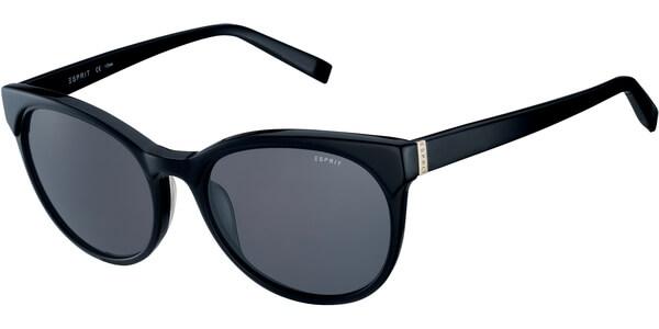 Sluneční brýle Esprit model 17909, barva obruby černá lesk, čočka černá, kód barevné varianty 538.