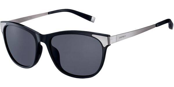 Sluneční brýle Esprit model 17913, barva obruby černá lesk štříbrná, čočka šedá, kód barevné varianty 538.