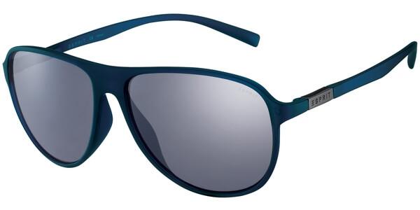 Sluneční brýle Esprit model 17922, barva obruby modrá mat, čočka hnědá, kód barevné varianty 543.