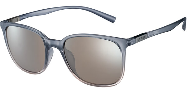 Sluneční brýle Esprit model 17923, barva obruby šedá lesk čirá, čočka stříbrná zrcadlo, kód barevné varianty 505.
