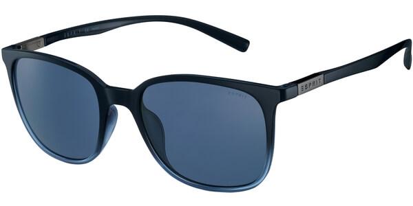 Sluneční brýle Esprit model 17923, barva obruby modrá lesk černá, čočka modrá, kód barevné varianty 543.
