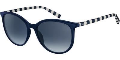 Sluneční brýle Esprit model 17925, barva obruby modrá lesk bílá, čočka modrá gradál, kód barevné varianty 543.