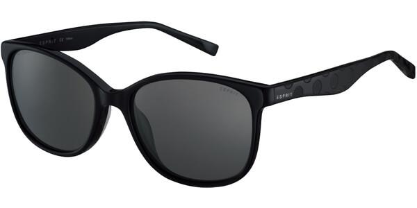 Sluneční brýle Esprit model 17932, barva obruby černá lesk, čočka šedá gradál, kód barevné varianty 538.