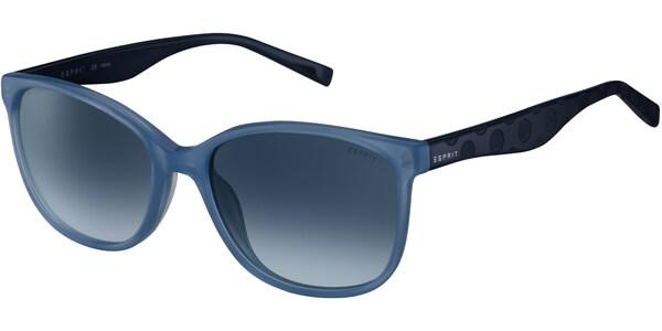 Sluneční brýle Esprit model 17932, barva obruby modrá lesk, čočka modrá gradál, kód barevné varianty 543.