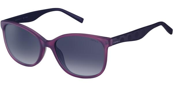 Sluneční brýle Esprit model 17932, barva obruby fialová lesk, čočka fialová gradál, kód barevné varianty 577.