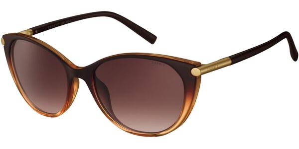 Sluneční brýle Esprit model 17934, barva obruby hnědá lesk, čočka hnědá gradál, kód barevné varianty 535.